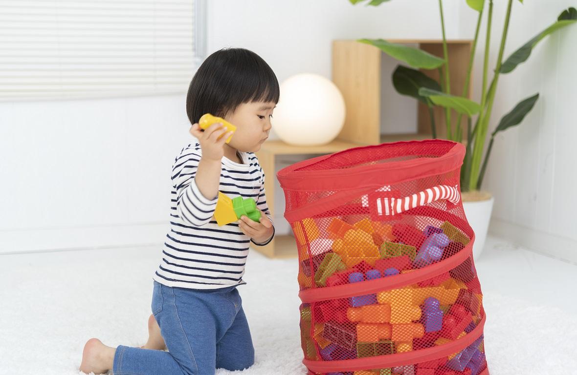 収納は「見える化」で効率的に~ラベリングで子どもも収納上手に
